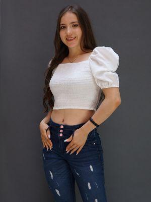 Blusa Aglobada Lisa | MOD: RL032